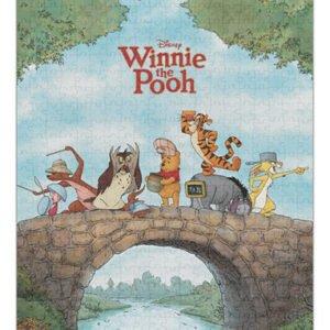 Disney Winnie the Pooh Licensed 1000 Piece Puzzle