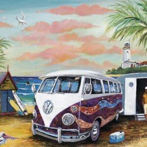Jenny Sanders - Dreamtime Kombi 1000 Piece Puzzle - Blue opal