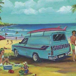 Jenny Sanders - Famous Sandman 1000 Piece Puzzle - Blue Opal
