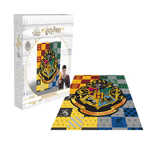 Licensed Puzzle - Harry Potter Hogwarts Crest 1000 Piece