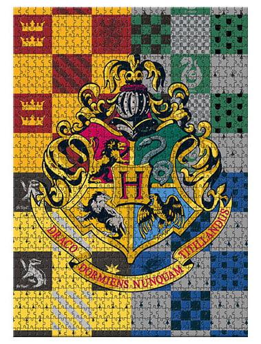 Licensed Puzzle Harry Potter Howarts Crest 1000 Piece