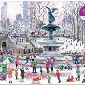 Michael Storrings - Bethesda Fountain 1000 Piece Puzzle - Galison