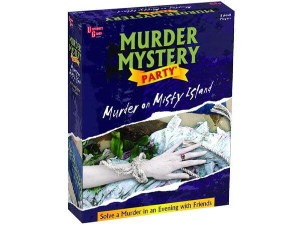 Murder Mystery Party Game - Murder on Misty Island