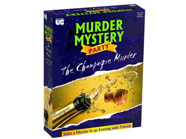 Murder Mystery Party Game - The Champagne Murder