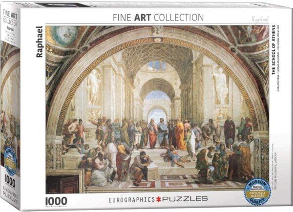 Raphael School of Athens 1000 Piece Puzzle - Eurographics