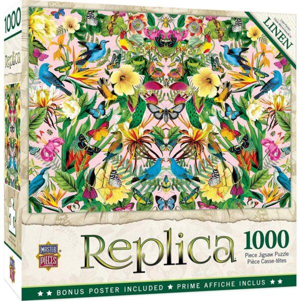 Replica Bluebirds 1000 Piece Jigsaw Puzzle - Masterpieces
