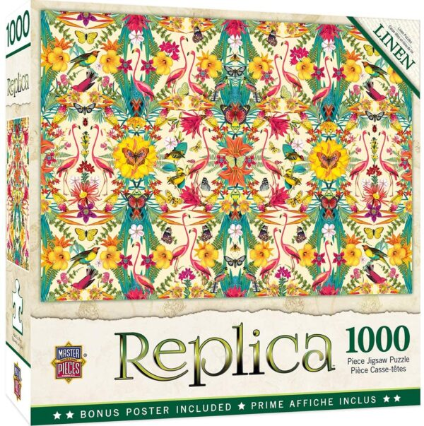 Replica - Flamingos 1000 Piece Jigsaw Puzzle - Masterpieces
