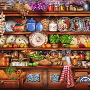 Ye Old Kitchen 1000 Piece Puzzle- Tilbury