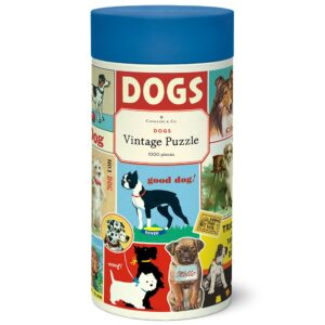 Vintage Puzzle - Dogs 1000 Piece - Cavallini & Co