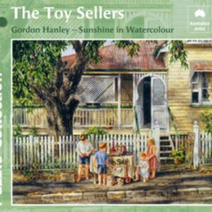Gordon Hanley - The Toy Sellers 1000 Piece Puzzle - Blue Opal