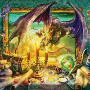 Charm Your Imagination - Dragon Come to Life 1000 Piece Jigsaw Puzzle - Holdson