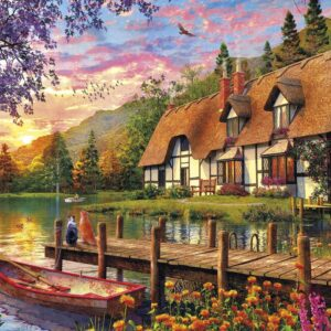 Waiting for Supper 500 Piece Jigsaw Puzzle - Gibsons