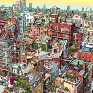 Gobel & Knorr - Sherlock 2000 Piece Jigsaw Puzzle - Heye