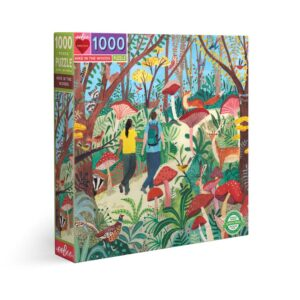 Hike in the Woods 1000 Piece Jigsaw Puzzle - eeBoo