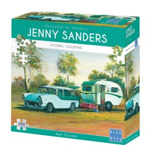 Jenny Sanders - Just Cruizin 1000 Piece Jigsaw Puzzle - Blue Opal