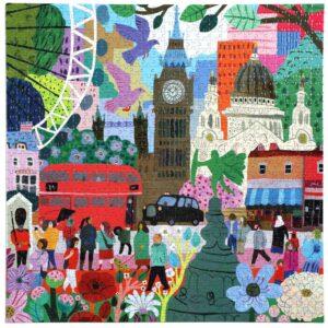 London Life 1000 Piece Jigsaw Puzzle - eeBoo