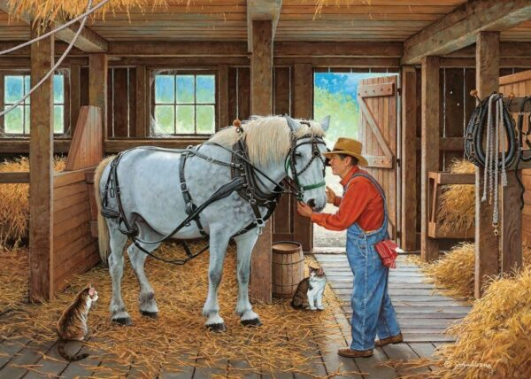 Stable Mates Sweet Talk 500 XL Piece Jigsaw Puzzle - Holdson