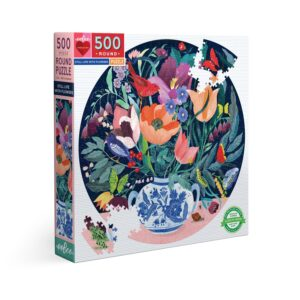 Still Life with Flowers 500 Piece Jigsaw Puzzle - eeBoo