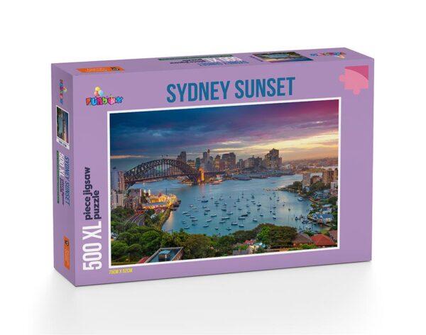 Sydney Sunset 500 XL Piece Jigsaw Puzzle - Funbox
