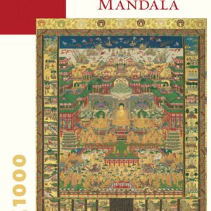 Taima Mandala 1000 Piece Jigsaw Puzzle - Pomegranate