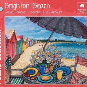 Brighton Beach 1000 Piece Puzzle - Blue Opal