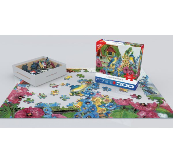 Country Cottage 300 XL Piece Puzzle - Eurographics