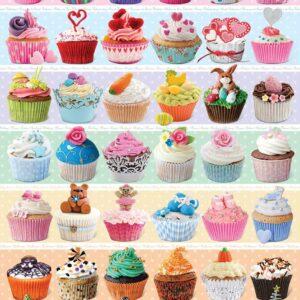Cupcake Celebration 1000 Piece Jigsaw Puzzle - Eurographics