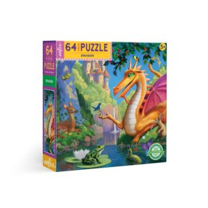 Dragon 64 Piece Puzzle - eeBoo