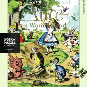 New York Puzzle Company - Alice in Wonderland 1000 Piece Puzzle