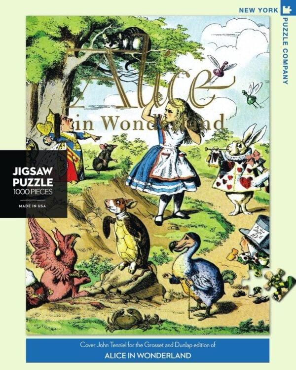 New York Puzzle Company - Alice in Wonderland 1000 Piece Puzzle