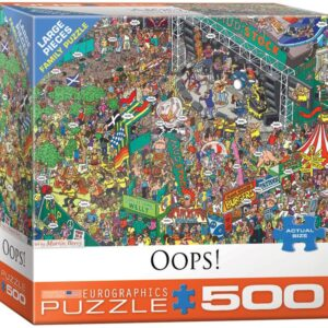 Oops 500 Large Piece Puzzle - Eurographics