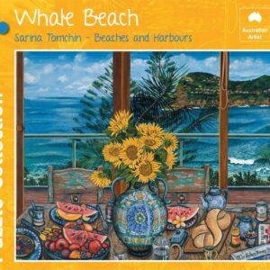 Whale Beach 1000 Piece Puzzle - Blue Opal