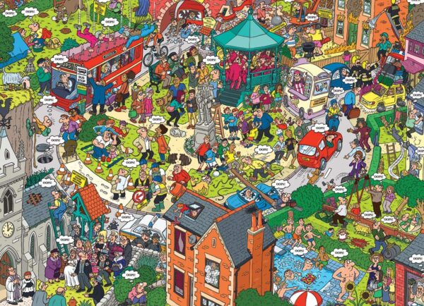 What Could go Wrong 500 Large Piece Puzzle - Eurographics
