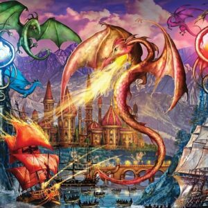 Gallery 7 - Dragon Attack 300 XL Piece Puzzle - Holdson