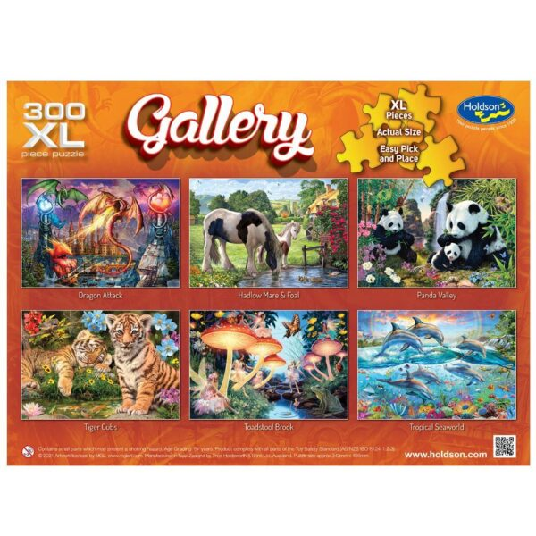 Gallery 7 - Hadlow Mare & Foal 300 XL Piece Puzzle - Holdson