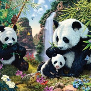 Gallery 7 - Panda Valley 300 XL Piece Puzzle - Holdson