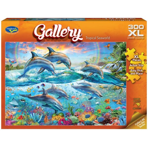Gallery 7 - Tropical Seaworld 300 XL Piece Puzzle - Holdson