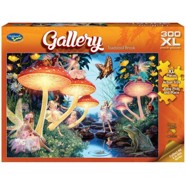 Gallery 7 - Toadstool Brook 300 XL Piece Puzzle - Holdson
