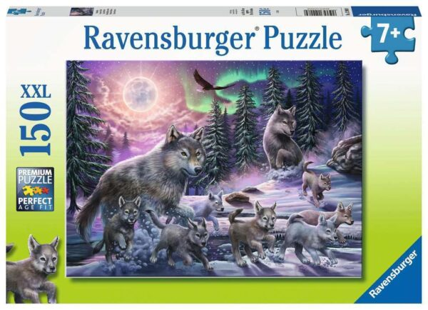 Northern Wolves 150 Piece Jigsaw Puzzle - Ravensburger