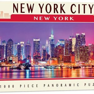 Panoramic New York City 1000 Piece Puzzle - Masterpieces