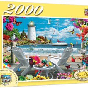 Signature Collection - Coastal Escape 2000 Piece Jigsaw Puzzle - Masterpieces