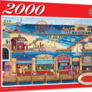 Signature Collection - Ocean Park 2000 Piece Jigsaw Puzzle - Masterpieces
