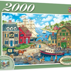 Signature Collection - Seagulls Delight 2000 Piece Jigsaw Puzzle - Masterpieces