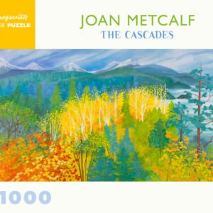 The Cascades 1000 Piece Jigsaw Puzzle - Pomegranate