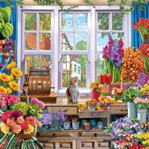 The Love of Flowers - Flower Shoppe 1000 Piece Puzzle - Holdson
