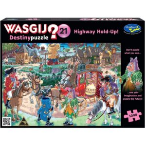 Wasgij Destiny 21 - Highway Hold Up 1000 Piece Jigsaw Puzzle - Holdson