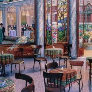 A Cafe Visit 1000 Piece Puzzle - Ravensburger