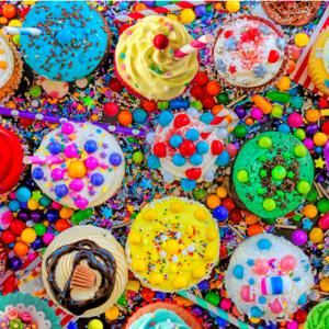 Cupcake Craze 1000 Piece Puzzle - Tilbury