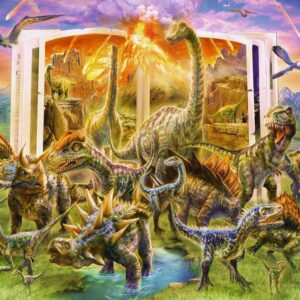 Dino Dictionary 300 Piece Puzzle - Ravensburger