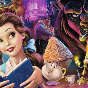 Disney Belle Mood 1000 Piece Puzzle Ravensburger